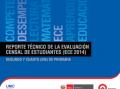 Reporte Técnico ECE - 2014