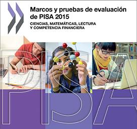caratula marco de evaluacion PISA 2015
