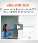 """Video conferencia: """"Proceso de aplicación de la ECE de 2.º grado de secundaria"""""""