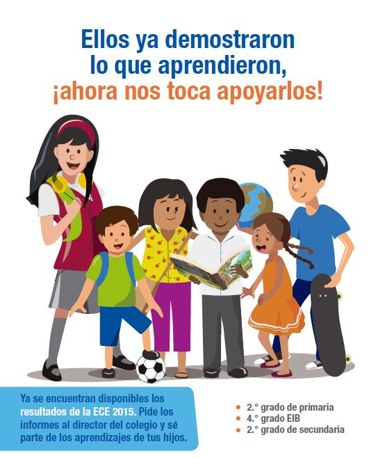 Captura afiche resultados ECE 2015
